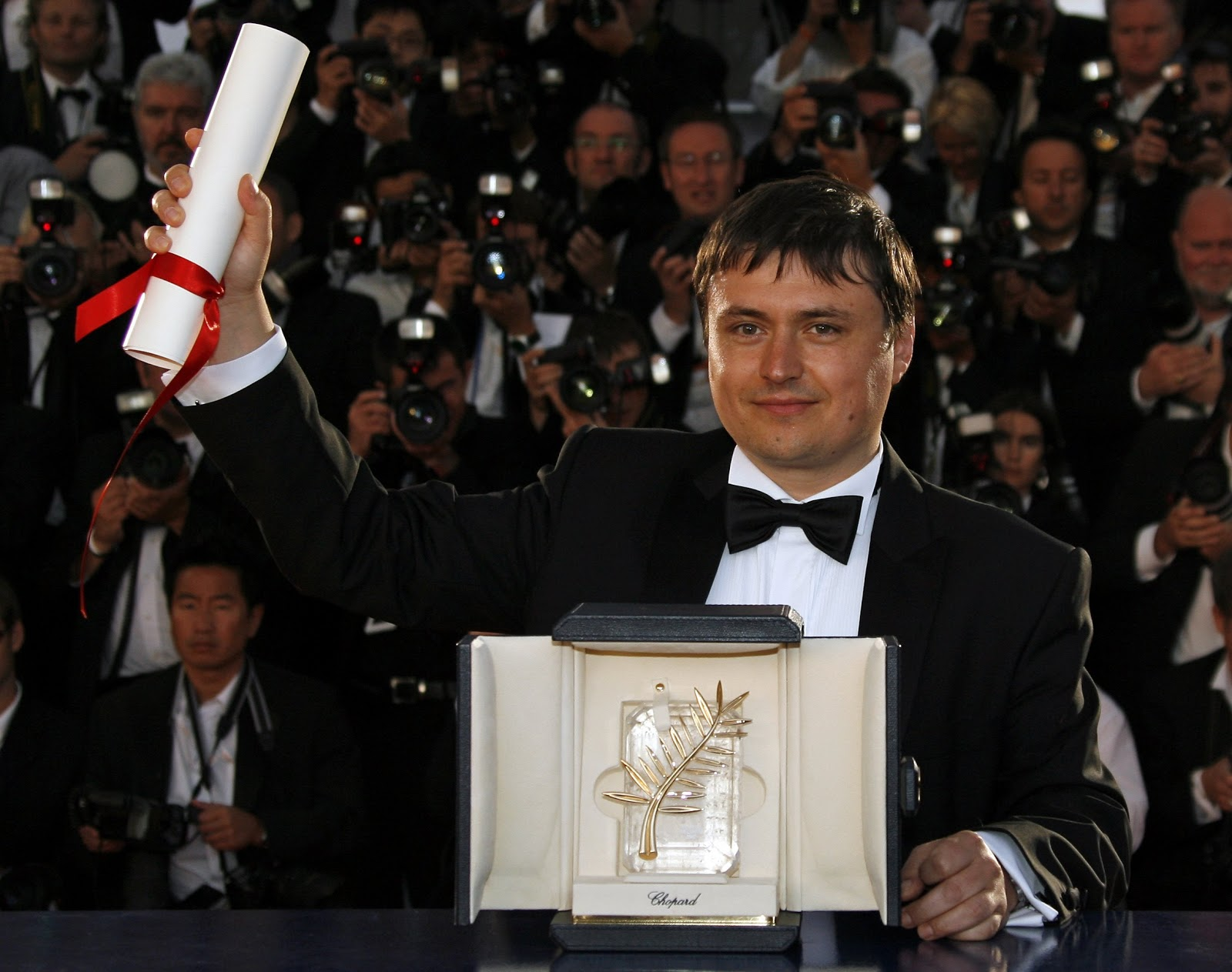 Cristian Mungiu et sa Palme d'or