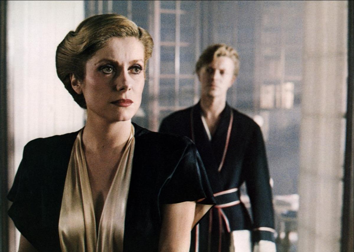 Catherine Deneuve et David Bowie dans Les Prédateurs