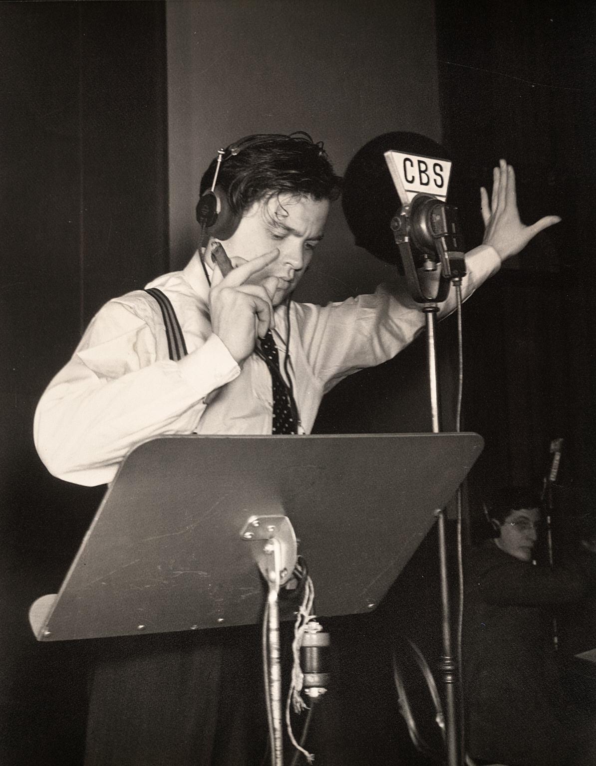 Orson Welles et La Guerre des mondes à la radio