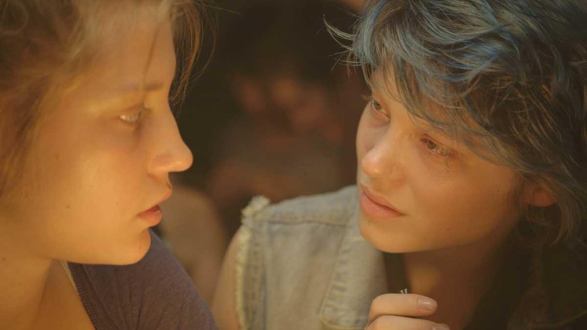 """Adèle Exarchopoulos et Léa Seydoux dans """"La Vie d'Adèle"""""""