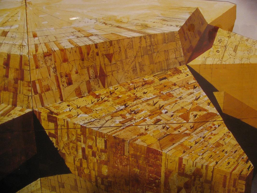 dessin préparatoire pour Dune