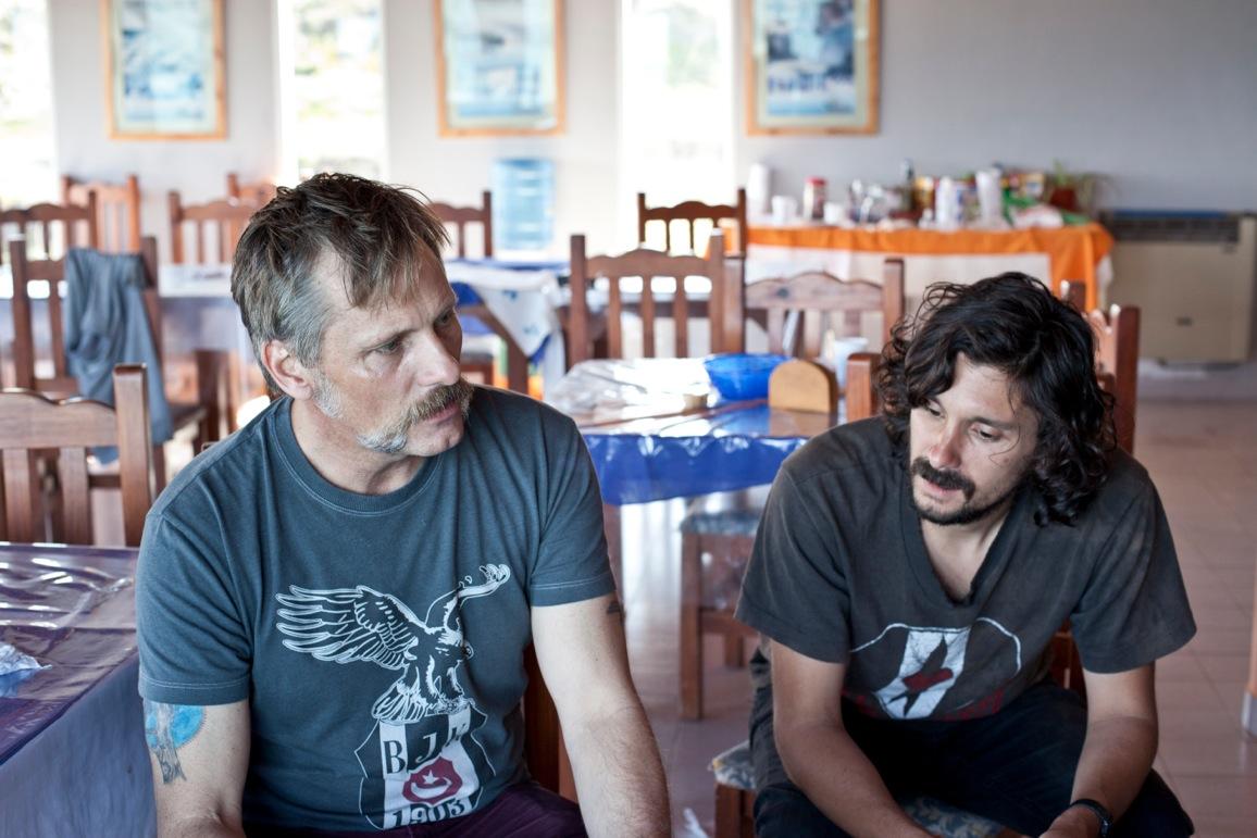 Viggo Mortensen et Lisandro Alonso © Guadalupe Goana
