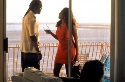 Samuel L. Jackson et Pam Grier dans Jackie Brown