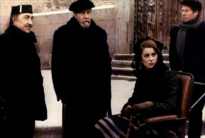Fernando Rey et Catherine Deneuve dans Tristana