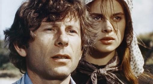 Roman Polanski et Nastassja Kinski sur le tournage de Tess.