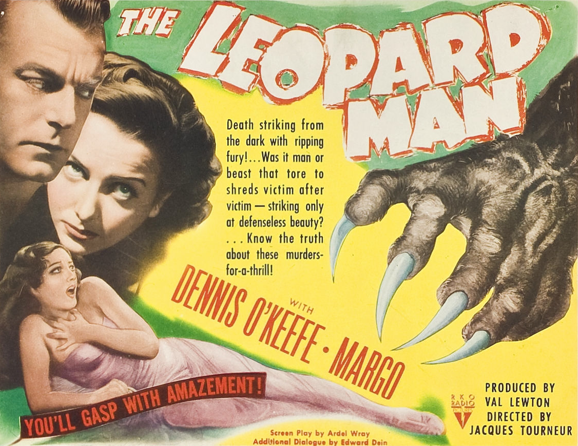 Affiche américaine de The Leopard Man