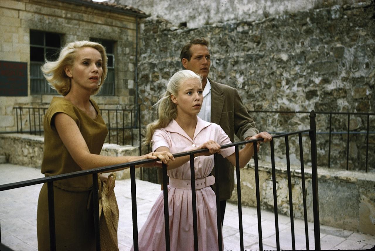 Eva Marie-Saint, Jill Hayworth, Paul Newman