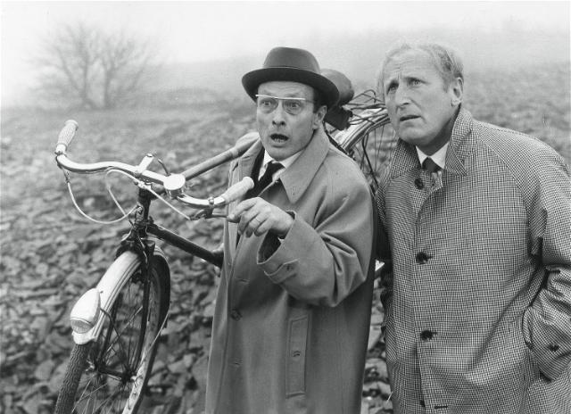 Jean-Louis Barrault et Bourvil