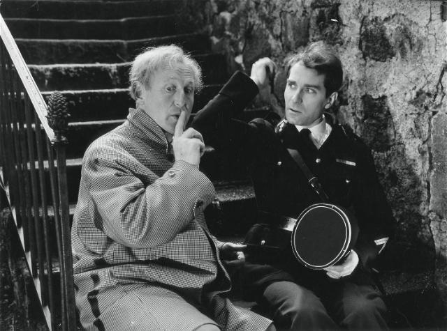 Bourvil et Jean Poiret