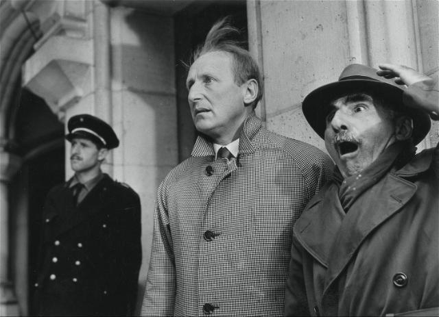 Bourvil et Marcel Pérès