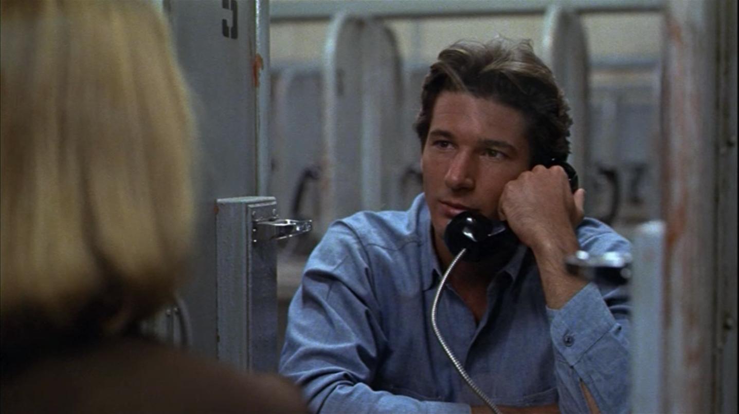et Richard Gere dans la scène finale d'American Gigolo