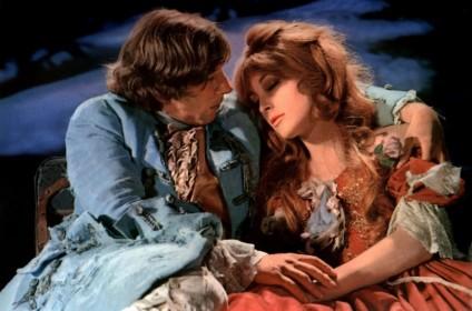 Roman Polanski et Sharon Tate dans la dernière scène du Bal des vampires