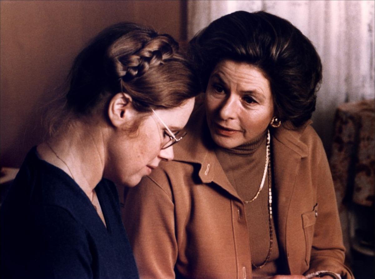 Liv Ullman et Ingrid Bergman