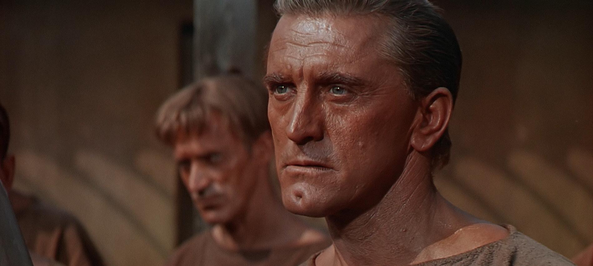 Kirk Douglas est Spartacus
