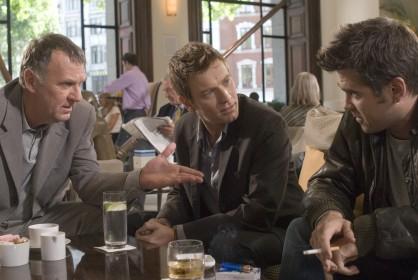 Tom Wikinson, Ewan McGregor et Colin Farrell