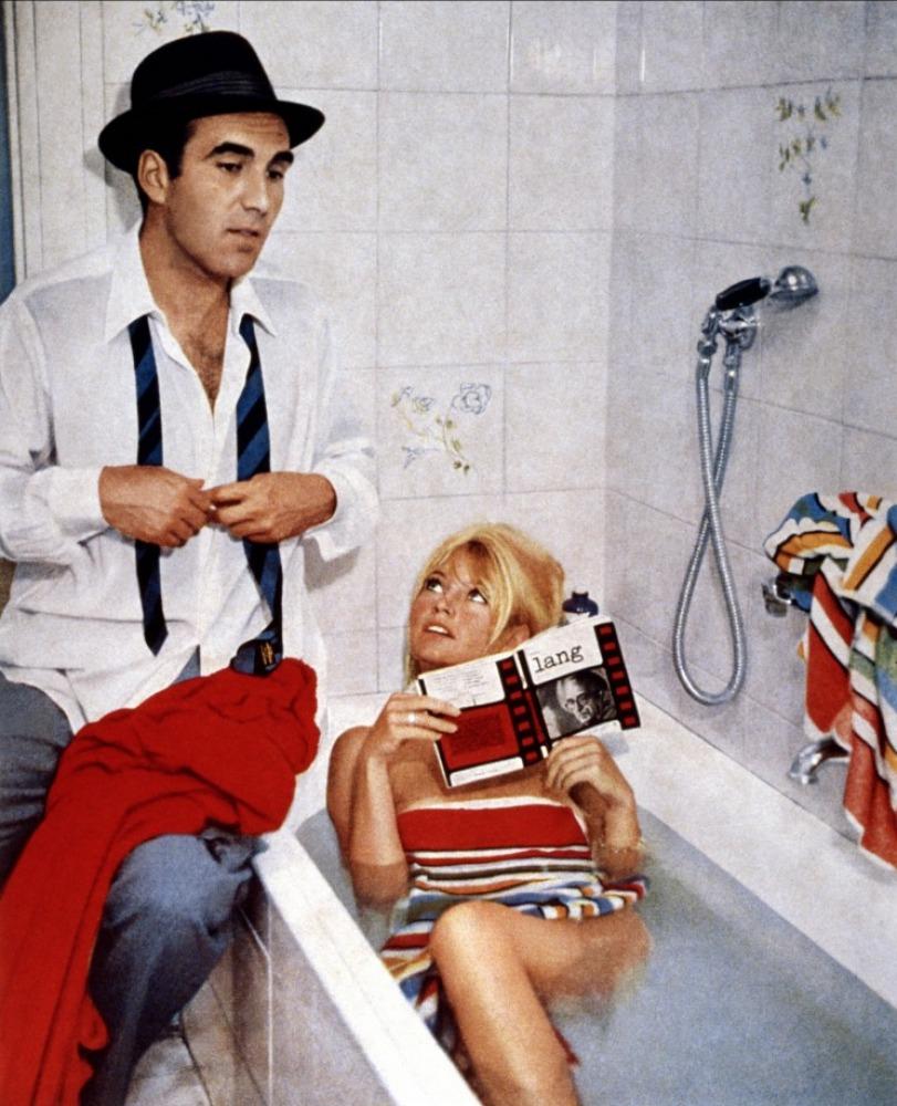 Michel Piccoli et Brigitte Bardot dans Le Mépris