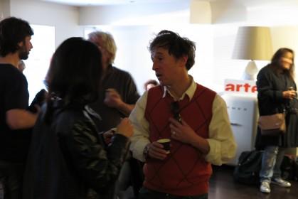 Bertrand Bonello lors du ciné-brunch du dimanche 23 novembre