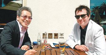 Avec Im Sang-soo, Festival de Cannes 2010