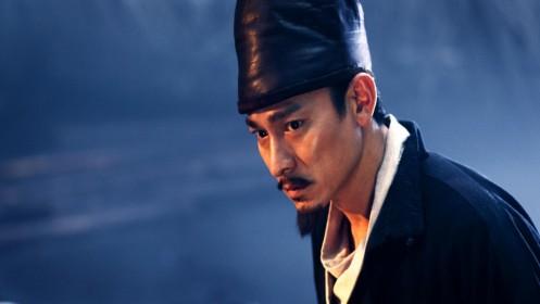 Le détective Dee (Andy Lau) mène l'enquête...