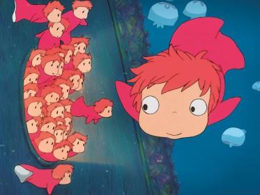 Le prologue de Ponyo sur la falaise