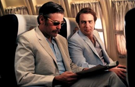 Georges Clooney et Sam Rockwell