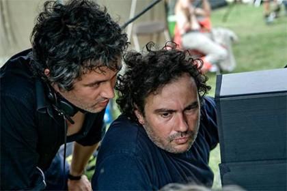 Les frères Larrieu sur le tournage de L'amour est un crime parfait