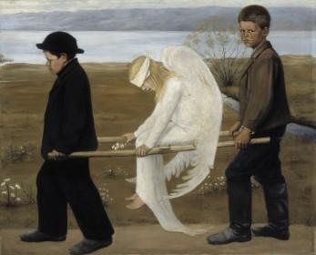 L'Ange blessé de Hugo Simberg