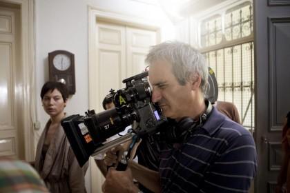 Olivier Assayas sur le tournage de Carlos
