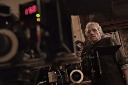 Abell Ferrara sur le tournage de Pasolini