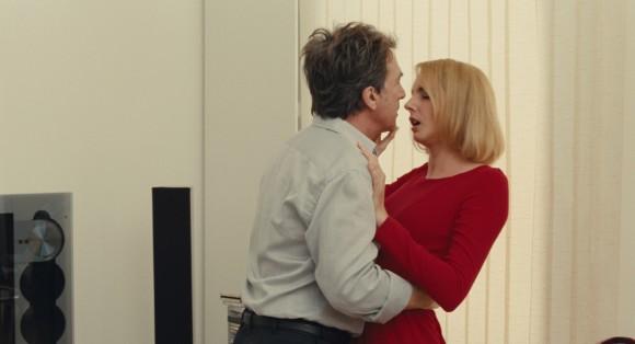 François Cluzet et Frédérique Bel dans L'Art d'aimer