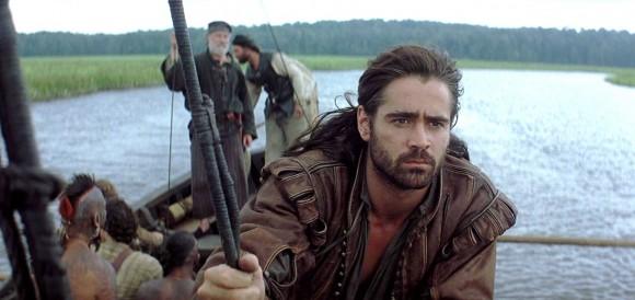Colin Farrell interprète John Smith dans Le Nouveau Monde