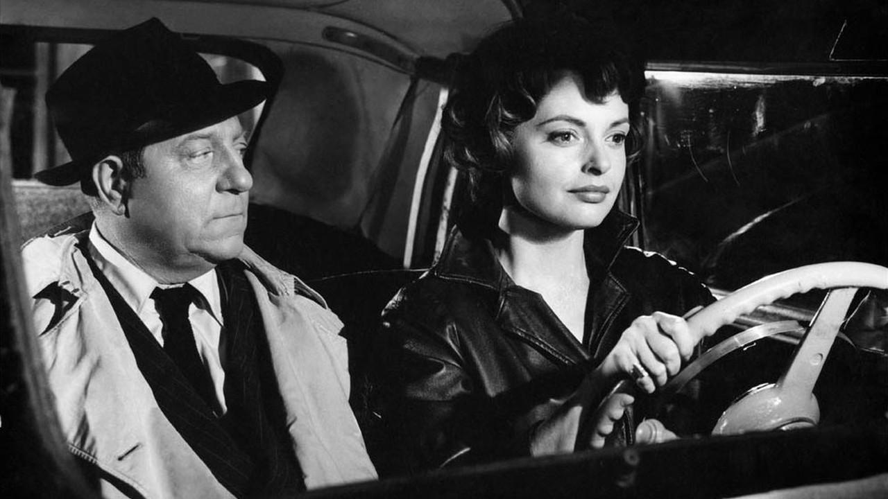 Jean Gabin et Nadja Tiller dans Le Désordre et la Nuit