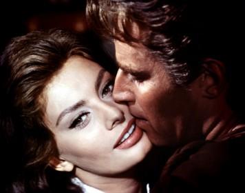 Sophia Loren et Charlton Heston dans Le Cid