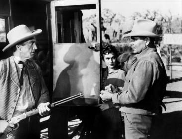 Ford Rainey, Felicia Farr et Glenn Ford dans Trois Heures dix pour Yuma