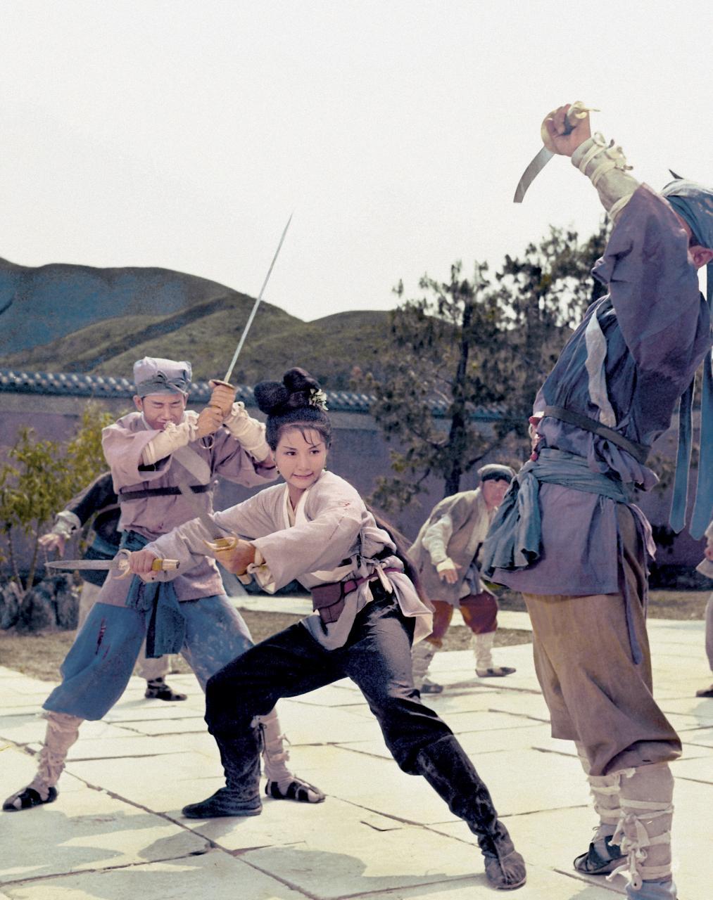 Cheng Pei Pei dans L'Hirondelle d'or de King Hu
