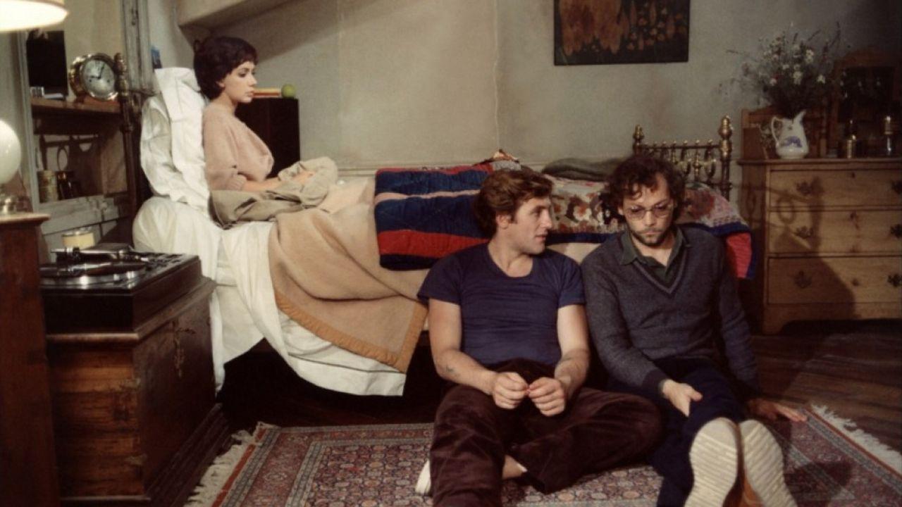 Carole Laure, Gérard Depardieu et Patrick Dewaere dans Préparez vos mouchoirs de Bertrand Blier