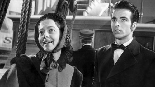 Olivia de Havilland et Montgomery Clift dans L'Héritière de William Wyler