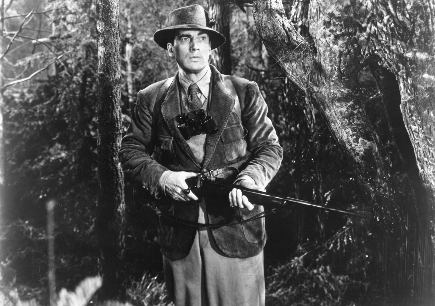 Walter Pidgeon dans Chasse à l'homme