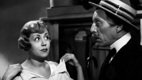 Gaby Morlay et Louis Jouvet dans Lady Paname