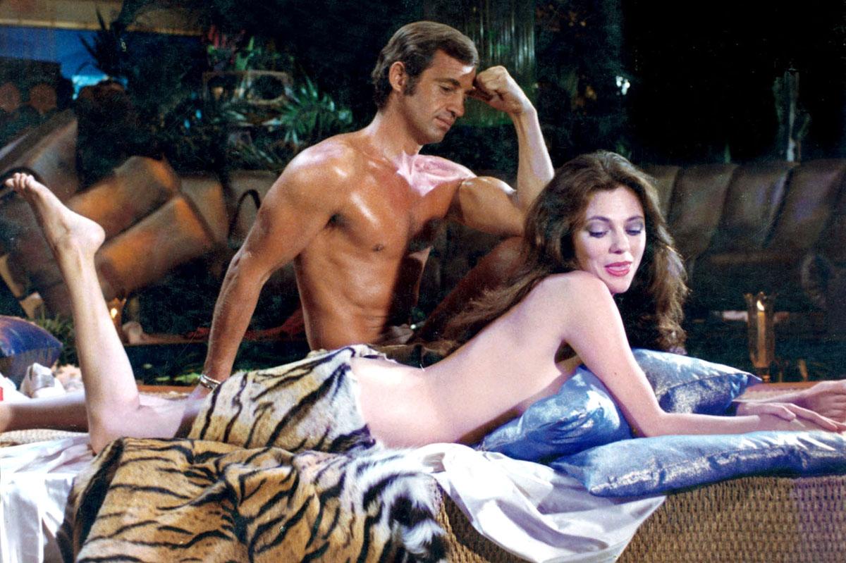 ... et Bob Saint-Clar (avec Jacqueline Bisset) dans Le Magnifique