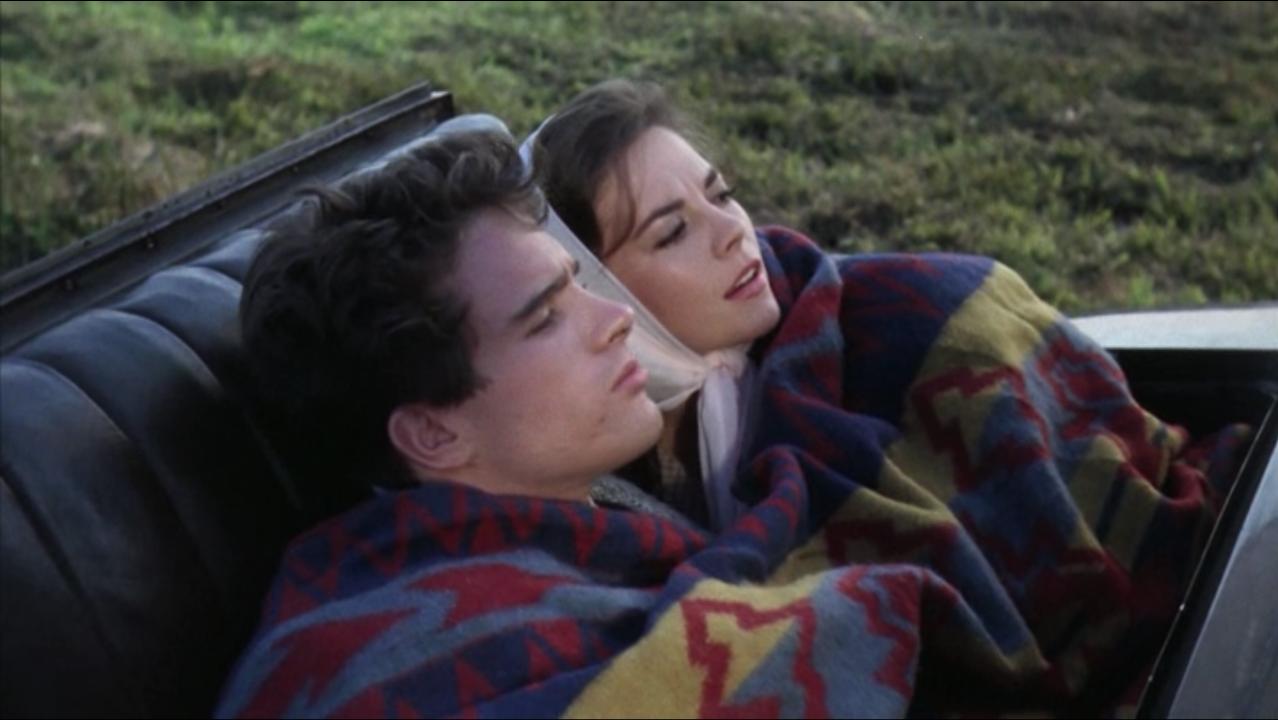 Warren Beatty et Natalie Wood dans La Fièvre dans le sang