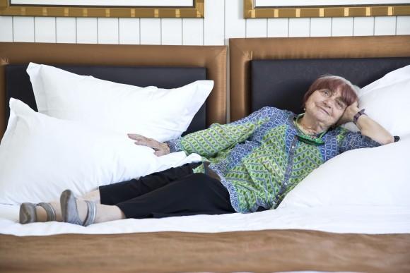 Agnès Varda par Paul Blind, Cannes 2015