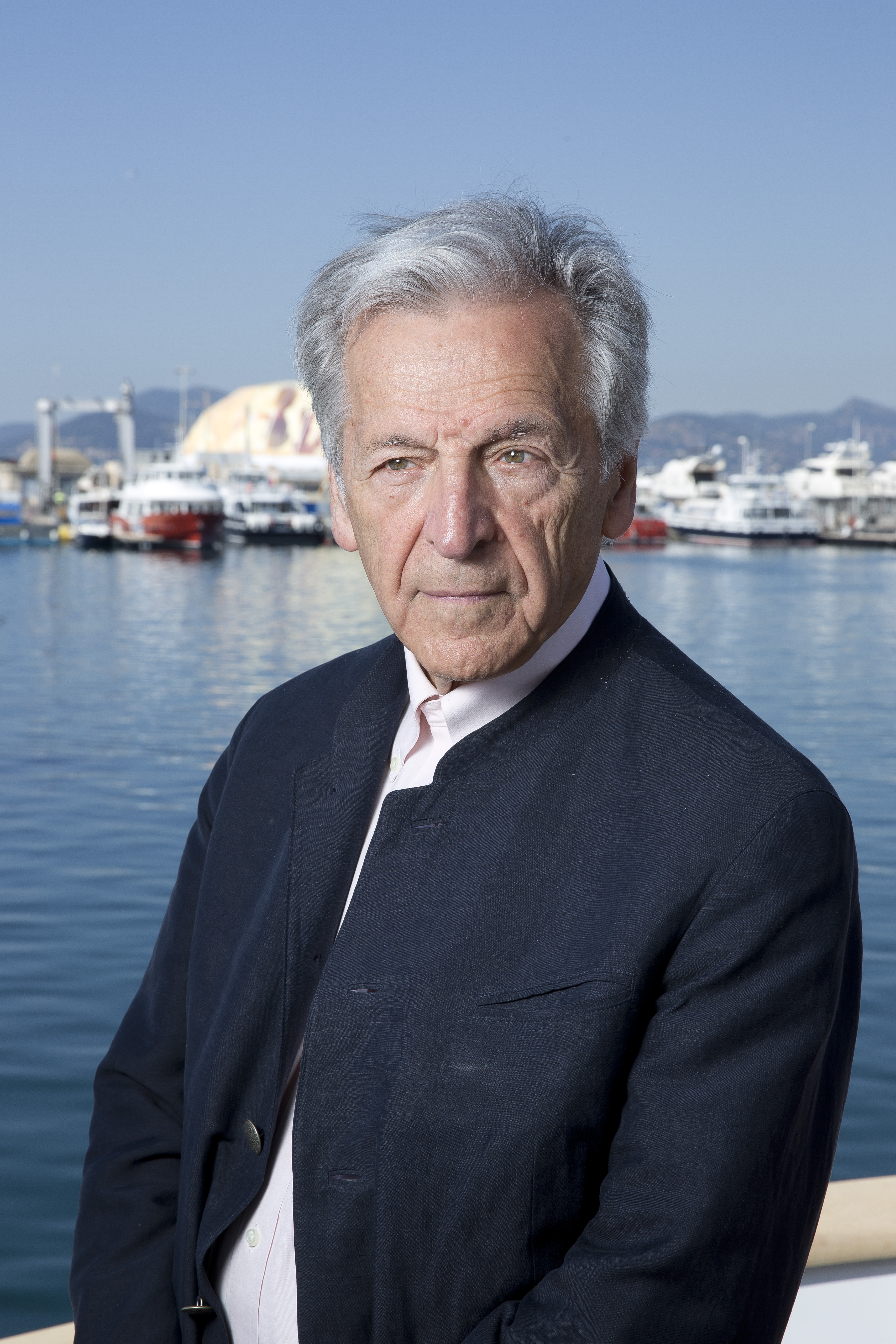 Costa-Gavras par Paul Blind, Cannes 2015