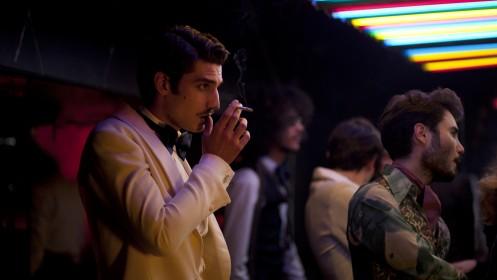 Louis Garrel magnifique dans le rôle de Jacques de Bascher, l'amant d'Yves Saint Laurent
