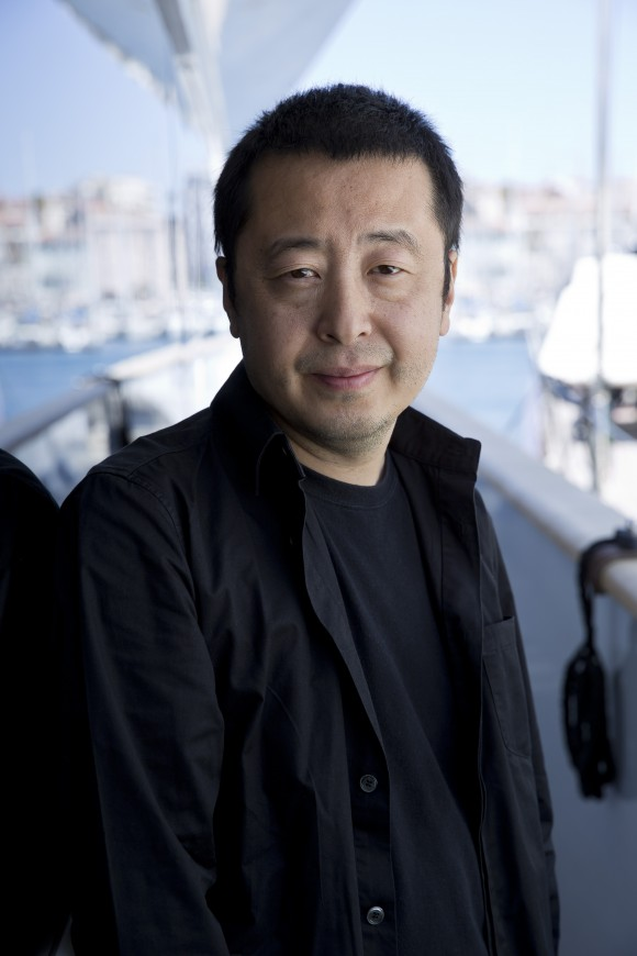 Jia Zanghke par Paul Blind, Cannes 2015