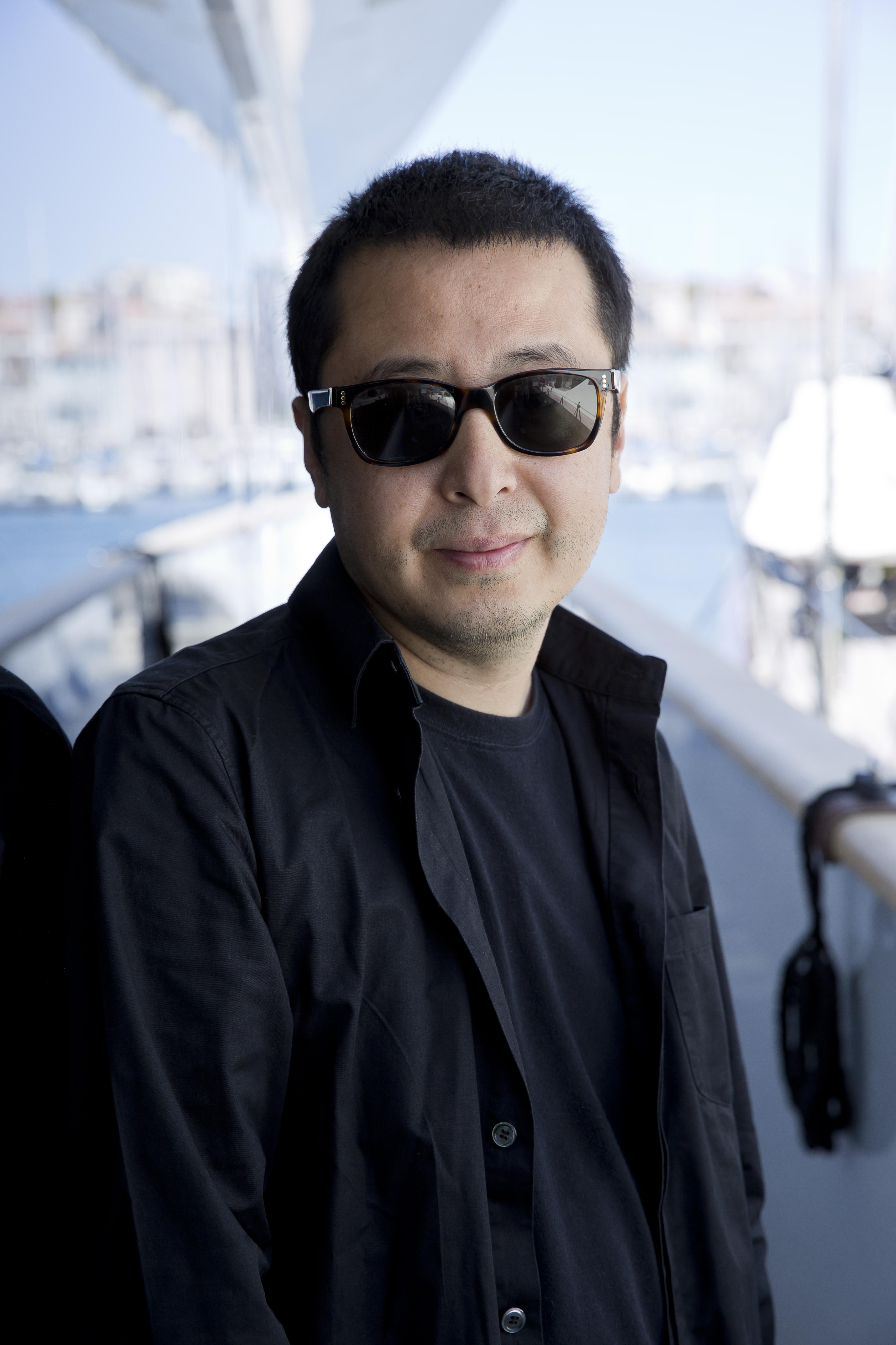 Jia Zhangke par Paul Blind, Cannes 2015