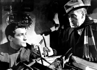 Vittorio Gassman et Totò dans Le Pigeon