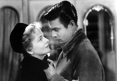 Joan Fontaine et Louis Jourdain dans Lettre d'une inconnue