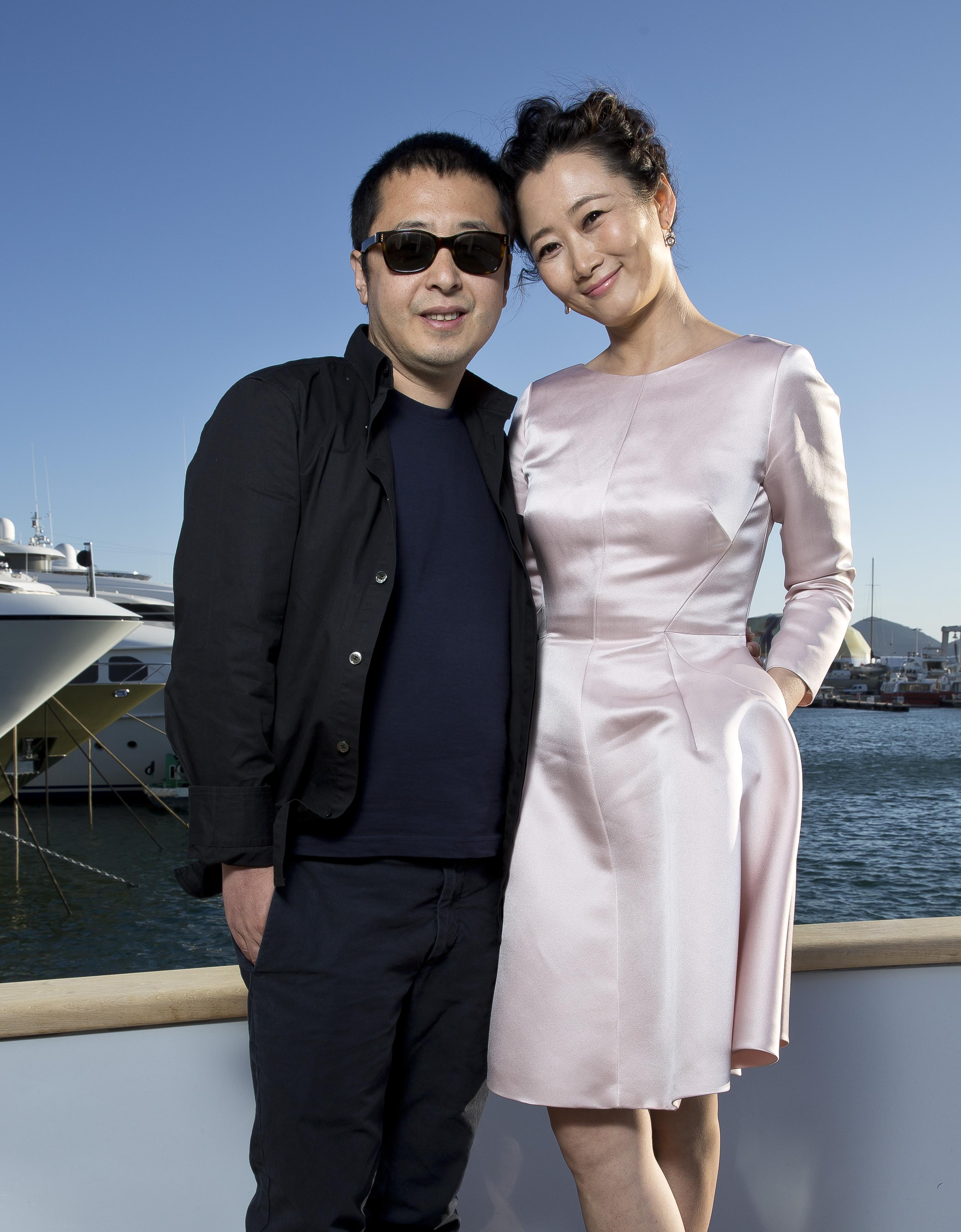 Jia Zhangke et Zhao Tao par Paul Blind, Cannes 2015