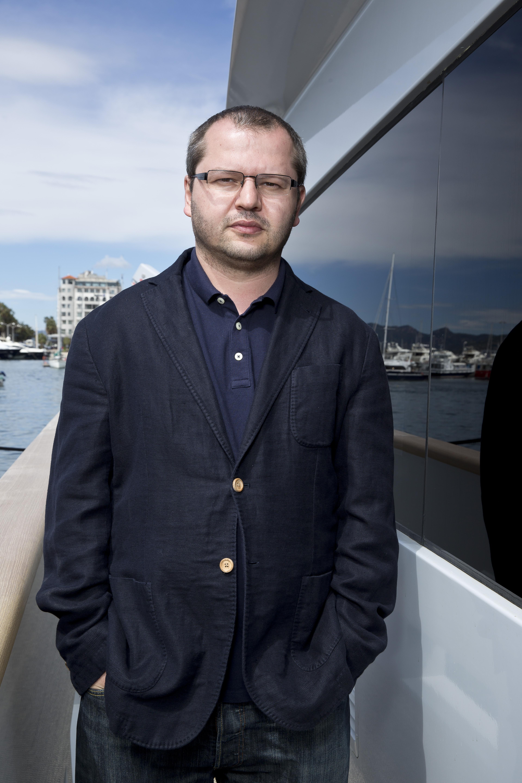 Corneliu Porumboiu par Paul Blind, Cannes 2015